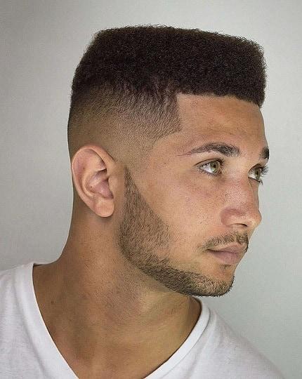 The Flat Top Marine Haircut