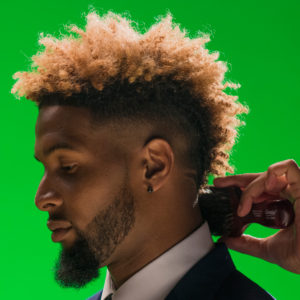 The Mohawk Fade Odell Haircut