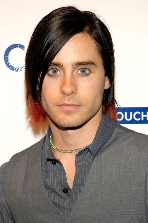 The hued ends Crayola Jared hairstyle