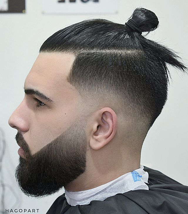 20 Best Samurai Bun Haircut :: How to Get (Tie) Man Bun