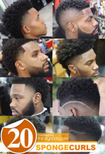 The Curl Sponge for the Streets Haircut