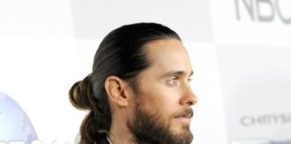 The man bun Jared Leto hairstyle