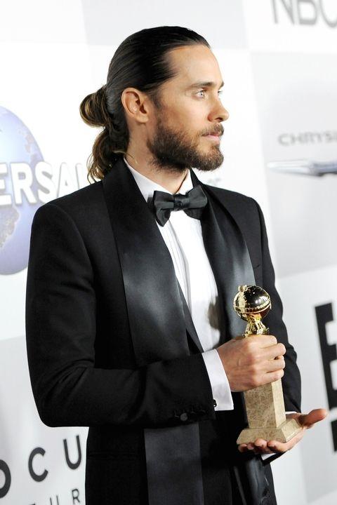 The man bun Jared Leto hairstyle