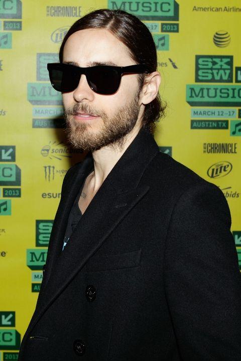 Sluck back Jared hairstyle