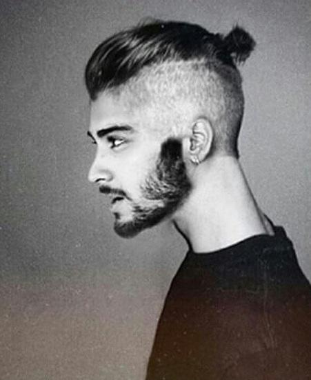 Man Bun Hair Style 8 - Man Bun Undercut