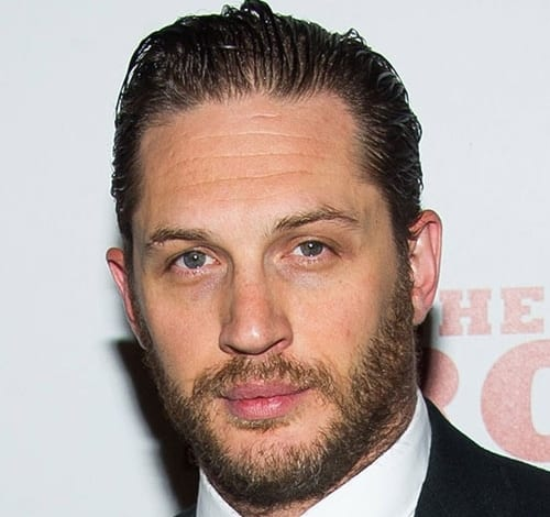 The Slick Back Tom Hardy Hairstyle