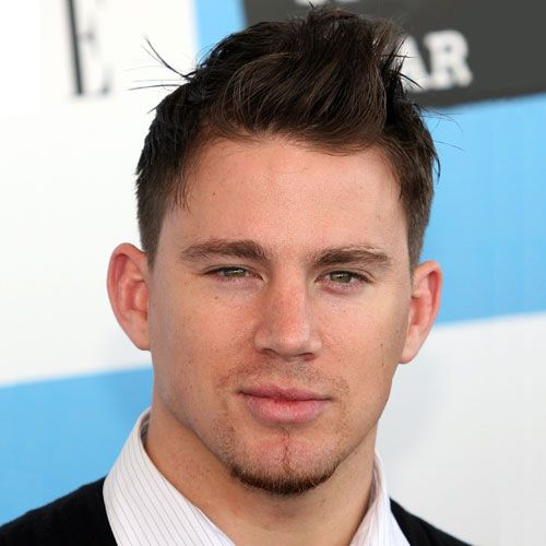 Short and Messy Channing Tatum Hairstyle