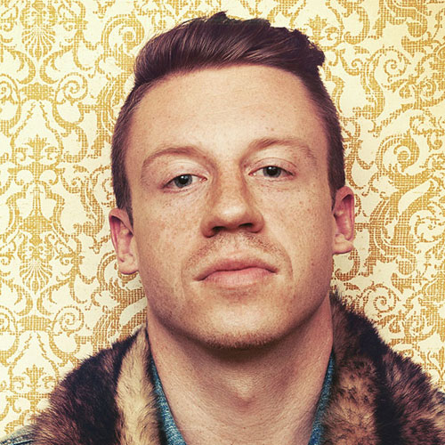 The Long Top and Short Sides Macklemore Hairstyle