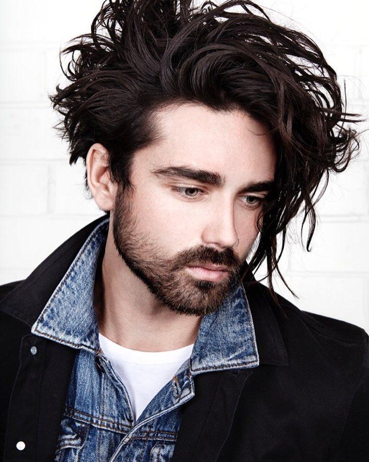 Curly Wavy Long Hair Beach Gy Mane Men Hairstyles Best Style