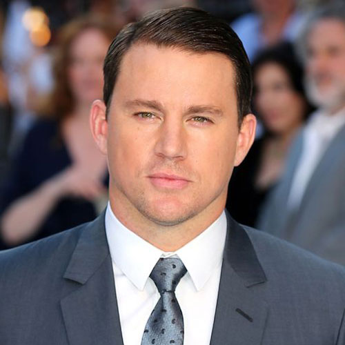 Combover with side part Channing Tatum Hairstyle