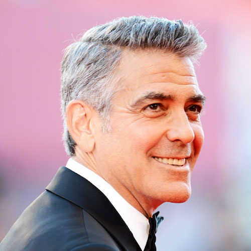 15 Best George Clooney Haircut How To Style Hair Like Him