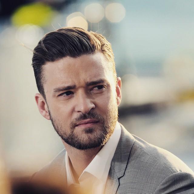 Brushed Back Justin Timberlake Haircut