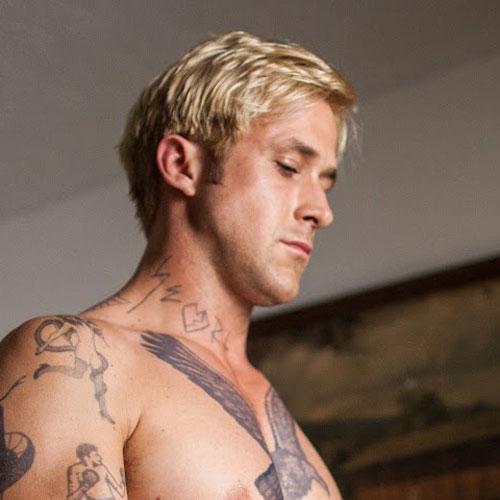 The Blonde Masculine Ryan Gosling Haircut