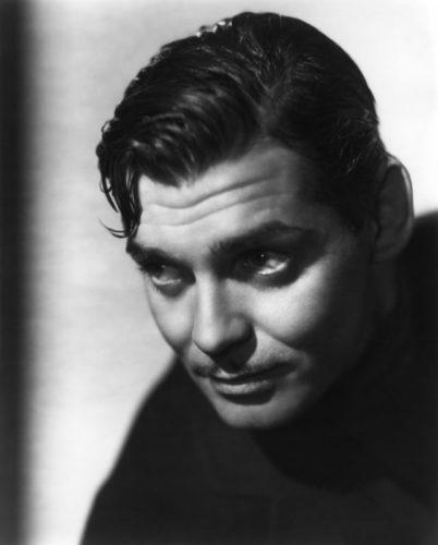 The wet set Clark Gable vintage hairstyle