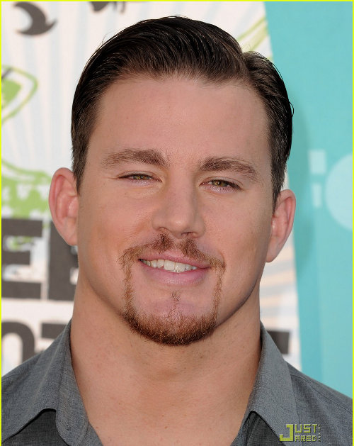 The combover with side part Channing Tatum Haircut