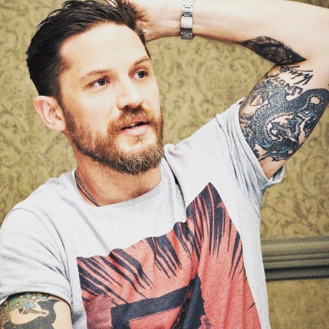 The Hipster Tom Hardy Haircut