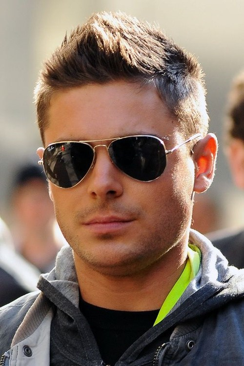 The Zac Efron Faux Hawk Hairstyle