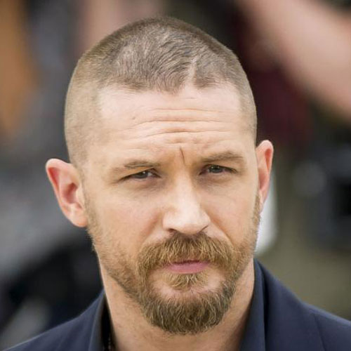 The Buzz Cut Mid Part Hairstyle