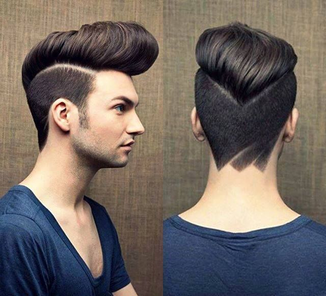 Creative Large Pompadour Greaser Hairstyle
