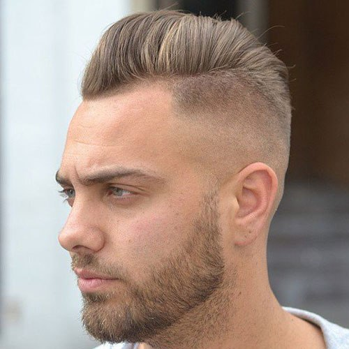 10 Best Skin Fade Bald Fade Haircut With Beard Atoz