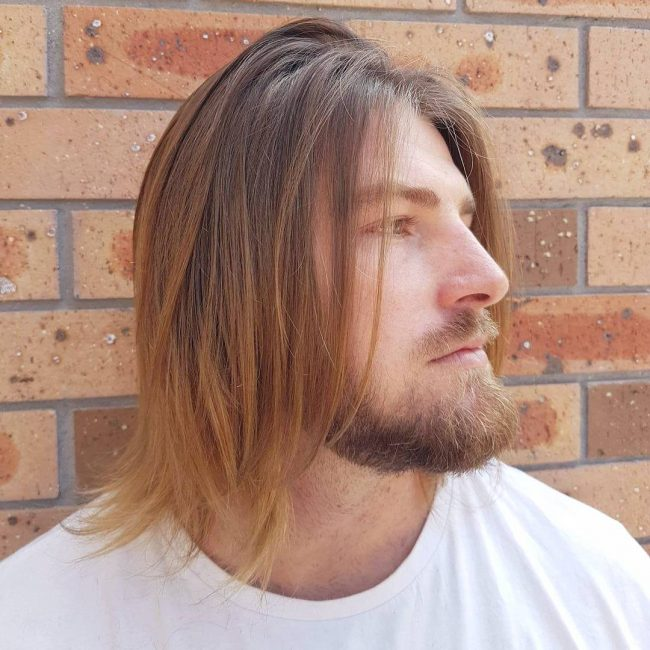 15 Best Men S Chin Length Hairstyles How To Style And Maintain