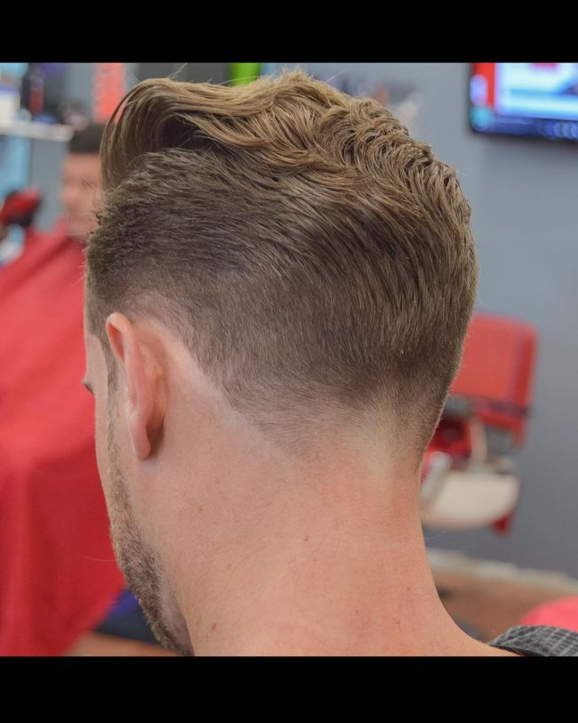 The Dapper V Shaped Hairstyle