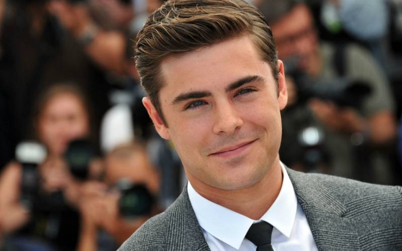 The Defined Quiff Zac Efron Style