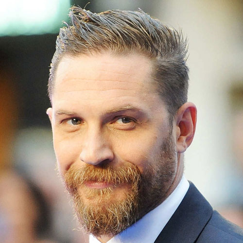 The Spiked and Tapered Tom Hardy Hairstylev
