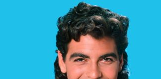 The TV hair curly mullet hairstyle