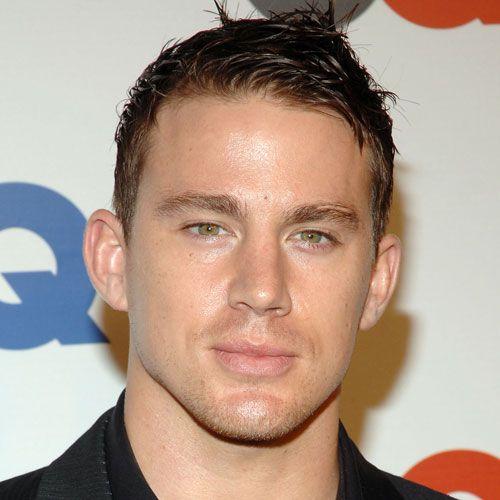 Wet Textured Channing Tatum Hairstyle