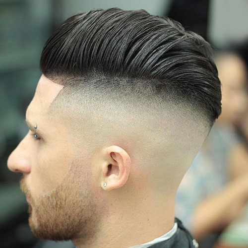 The Combover High Razor Fade Pomp