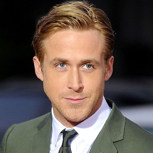 The Ryan Gosling Blonde and Formal Haircut