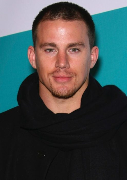 Casual Tatum Hairstyle with Trimmed Beard