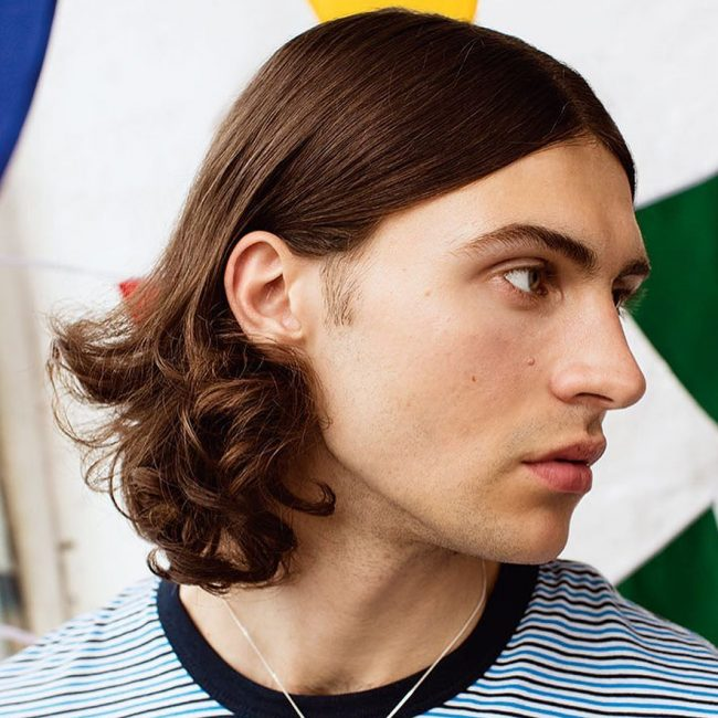 Ringlets chin length hairstyle
