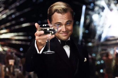 The vintage classic Leonardo Decaprio hairstyle