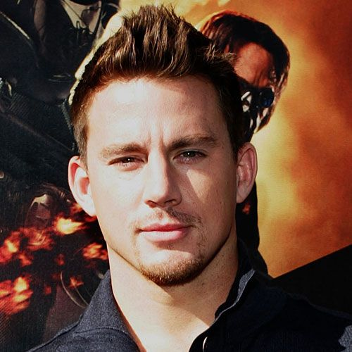 Faux Hawk Channing Tatum Hairstyle