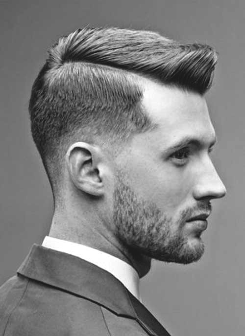 Undercut taper haircut with fade