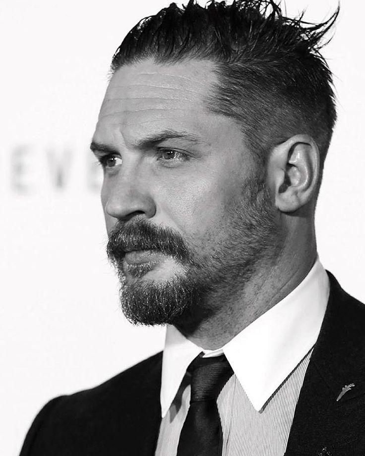 The adventure Tom Hardy beard style