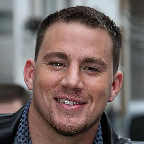 Crew Cut Channing Tatum Hairstyle
