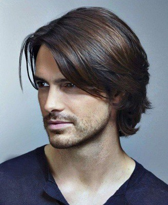 The rock m roll shaggy hairstyle