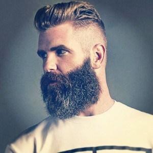 Polished and Gruffed Beard Style