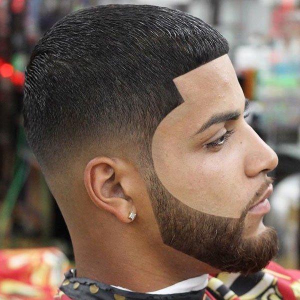 Le style Afro shape up fade