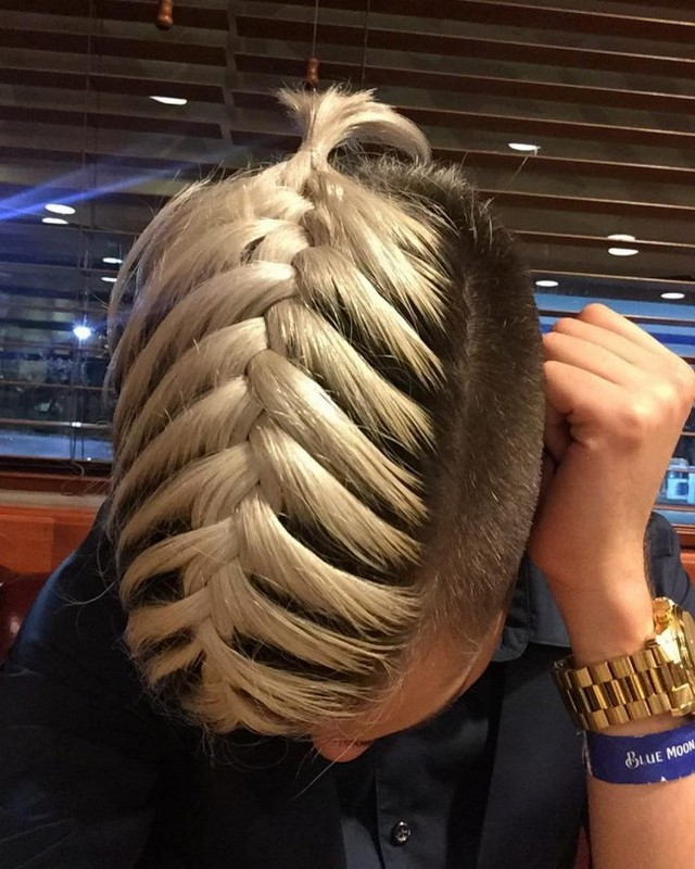 Fishtail Braid Men How To Do With Straight Wavy And