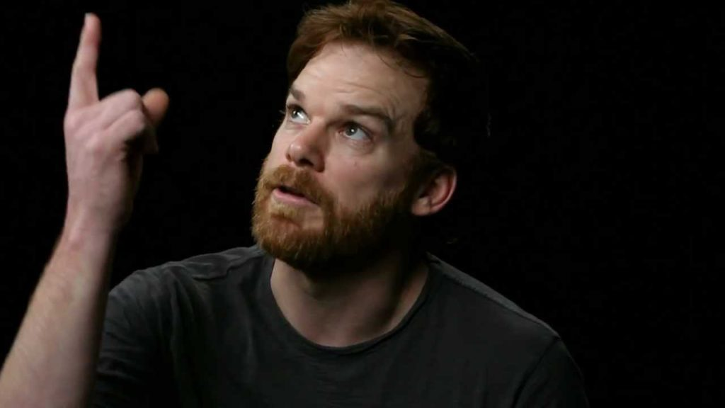 Michael C Hall Beard Style