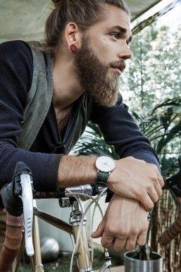 Chin Length Uniform Beard