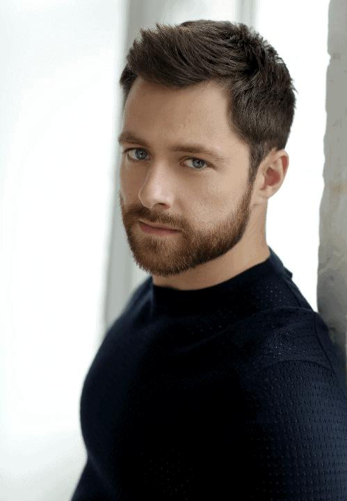 The Bold Cheek Line Beard Style