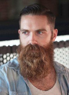 The Gentleman Burly Beard Style