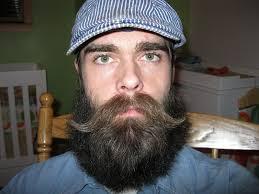 Beard Style with Handlebar Mustache