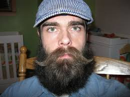 Beard Style with Handlebar Mustache