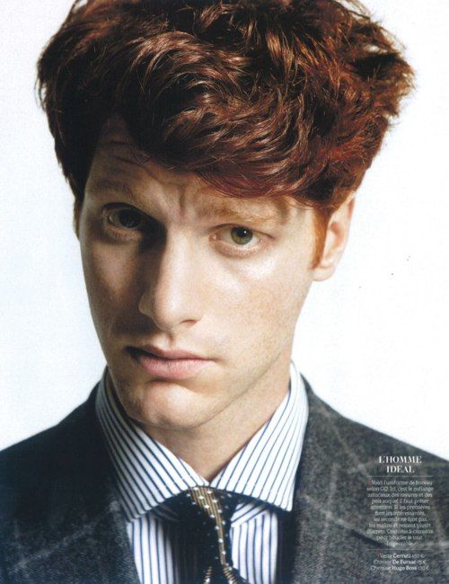 Best Red Hair Color Ideas For Men